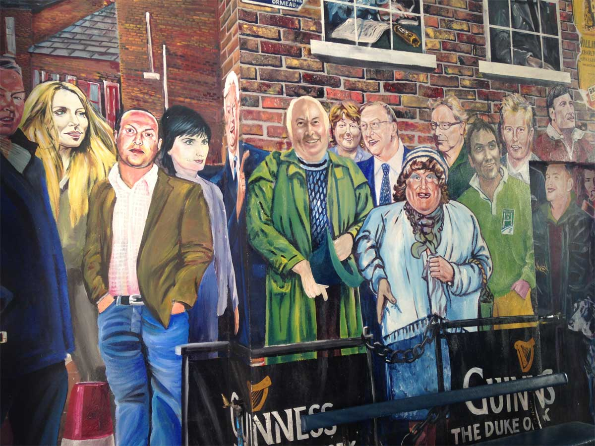 Michael Mckervey Duke of York Mural Belfast