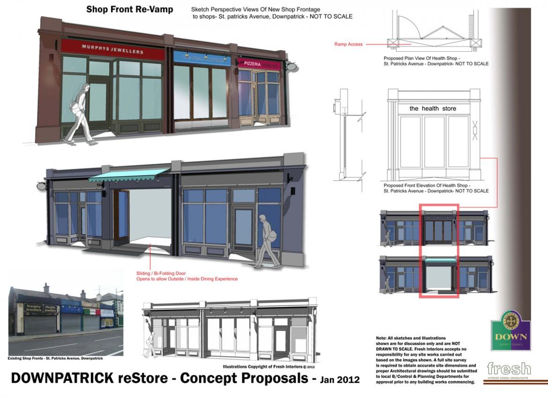 Downpatrick Shopfront Scheme