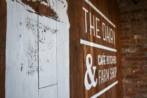 The Dairy Glenoe-Feature Wall with